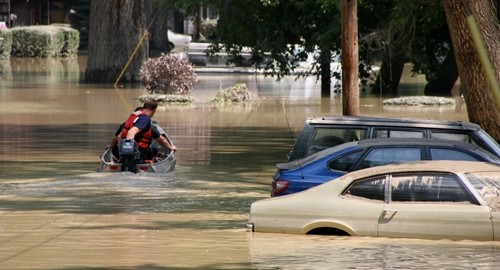 Mississippi experienced severe flood damage in March.