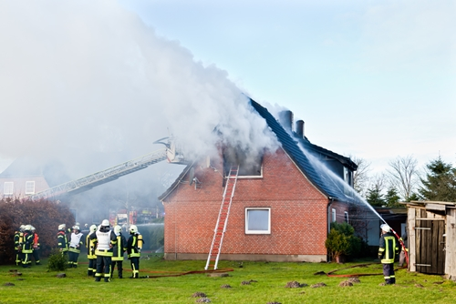 A house fire caused $25,000 in damages.