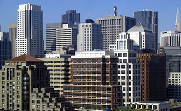 Commercial construction in San Francisco